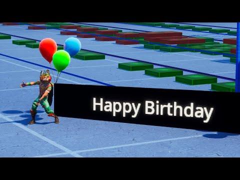 Happy Birthday Song In Fortnite