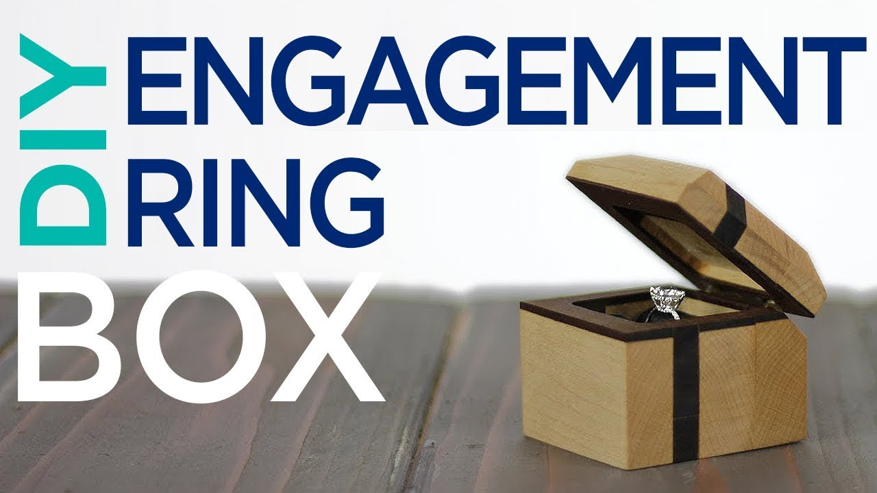 DIY Engagement Ring Box | 13 - YouTube