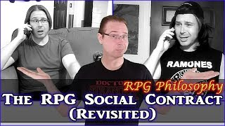 The RPG Social Contract (Revisited) - RPG Philosophy