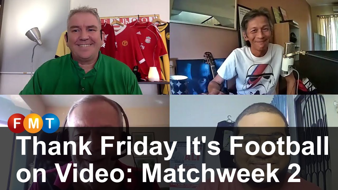 Thank Friday It's Football on Video: Matchweek 2