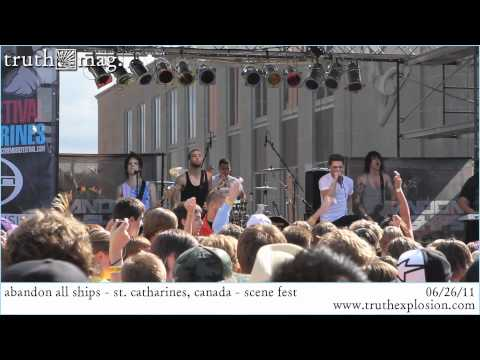 Abandon All Ships - Geeving (Live) SCENE FEST 2011