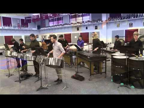 Grant Kirkhope - Treasure Trove Cove (Banjo-Kazooie) [Percussion Ensemble Cover]