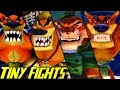 Evolution of Tiny Tiger Battles in Crash Bandicoot Games (1996-2017)
