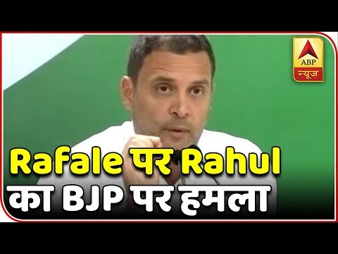 "Master Stroke(11.10.18): Rahul Gandhi Uses ""Rafael Deal"" As A Card Against Modi Govt. | ABP News"