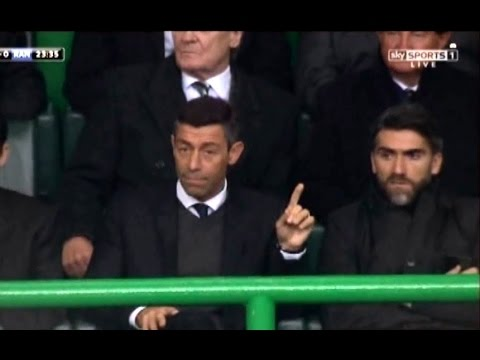 Greame Murty Interview / Pedro Caixinha  Watching From The Stand at Celtic Park