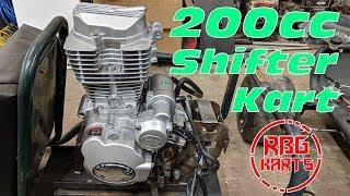 200cc Shifter Kart Build Ep 1