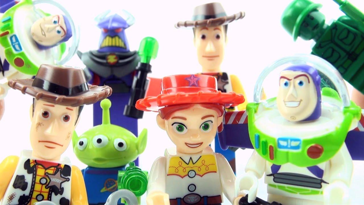 Lego Compatible Disney Pixar Toy Story Figurine Buzz Lightyear