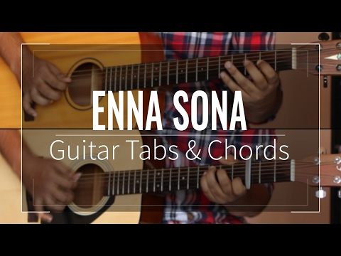 Enna Sona   OK Jaanu - Guitar Tabs (Lead) & Chords (Lesson/Tutorial) Cover With Solo