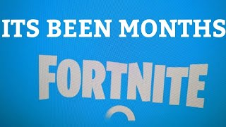 Fortnite... Except it's been months since I really played the game