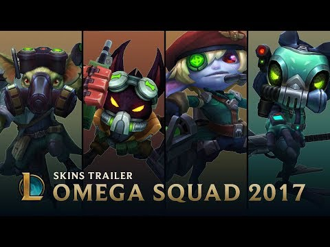 Operation: Rescue Teemo | Omega Squad 2017 Skins Trailer - League of Legends