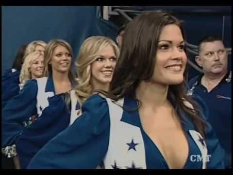 Little Texas - God Blessed Texas (Dallas Cowboys Cheerleaders)