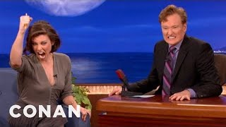 Lauren Cohan Has An Intense Kill Face - CONAN on TBS thumbnail