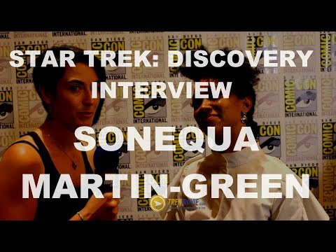 Thumbnail: Exclusive Interview with Star Trek: Discovery's Sonequa Martin-Green - SDCC 217 HD