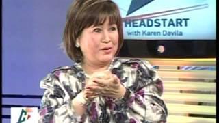 What Annabelle Rama thinks of Alma's Senate run