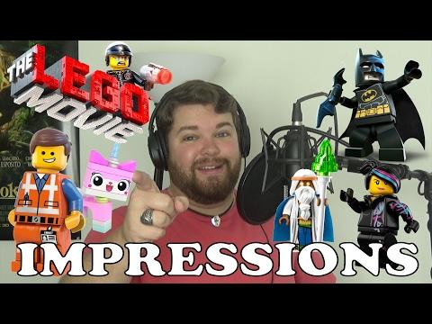 The Lego Movie Impressions