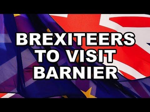 Big Brexiteers go to Brussels