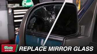 How To: Replace Your Vehicle's Side View Mirror Glass