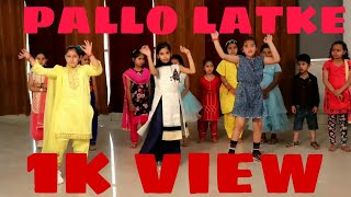 || PALLO LATKE || DANCE CHOREOGRAPHY by ABHI DOGRa