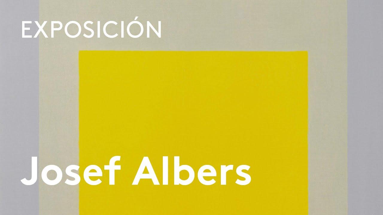Josef Albers Medios Mínimos Efecto Máximo Youtube