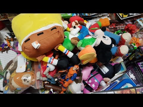 Garage Sale / Church Sale Pickups: Toys, Plushies, Video Games .. So Much Stuff