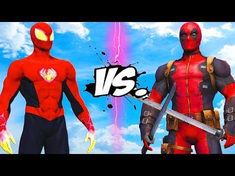 SPIDER-MAN (PHOENIX) VS DEADPOOL - EPIC BATTLE