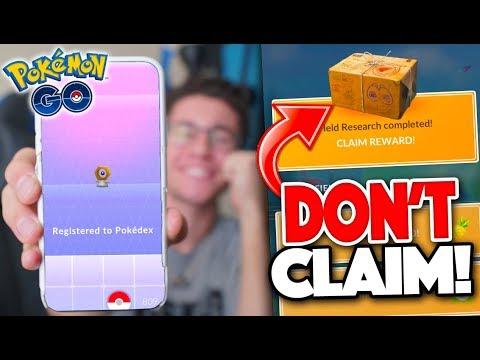 "FIELD RESEARCH ""GLITCH"" (DON'T CLAIM)! Catching Meltan & NEW SHINY Raid Boss in Pokémon GO! thumbnail"