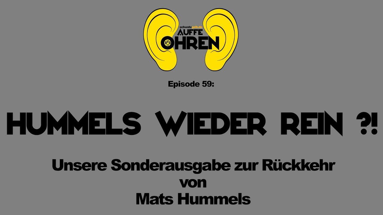 Auffe Ohren #59: Hummels wieder rein ?! | BVB Podcast von schwatzgelb.de
