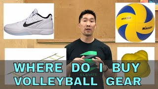 Where do I buy VOLLEYBALL GEAR? - Ask Coach Donny