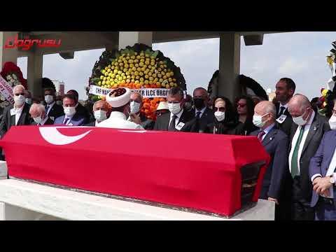 Eski milletvekili Şahin Mengü, son yolculuğuna uğurlandı