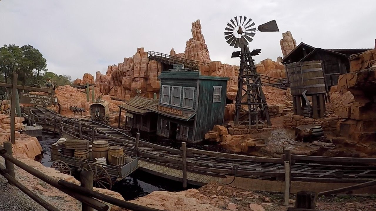 Walt Disney World Railroad 60fps POV On-Ride Frontierland ...