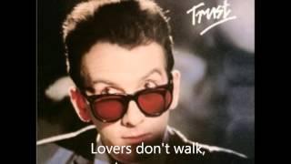 "Elvis Costello - ""Lovers Walk"" (with lyrics)"