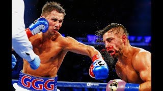 Gennady Golovkin vs David Lemiuex - Highlights (GGG Bloodies Lemiuex)