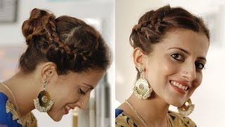 Festive Look: Rock This Braided Bun