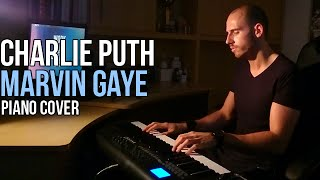 Charlie Puth feat. Meghan Trainor - Marvin Gaye (Piano Cover by Marijan) + Sheet Music