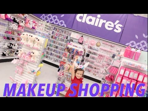 Toys R Us Claires Section Make Up And Jewlery Shopping Spree Tay Haul