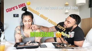 MUKBANG | THOUGHTS ON CLARE'S DMS, AYESHA CURRY, QUEEN'S NEW BODY