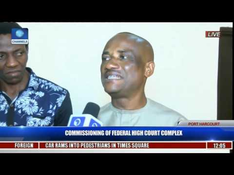 Commissioning Of Federal High Court Complex Pt. 9
