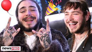 Post Malone Celebrates His 24th Birthday!