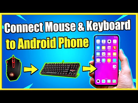 How To Connect Keyboard And Mouse To Android Phone Wired Or Wireless (Easy Method)