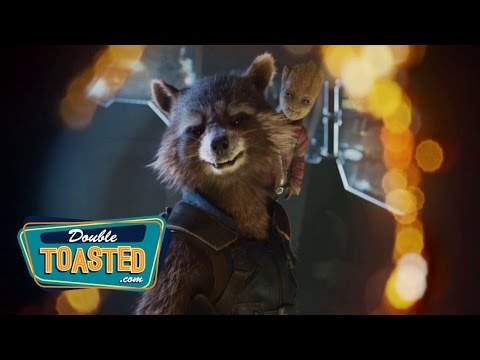 GUARDIANS OF THE GALAXY 2 TEASER TRAILER REACTION - Double Toasted Highlight
