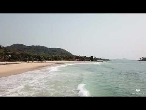 Bureh beach is located around Sierra Leone's peninsular