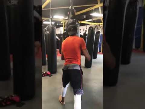 Kickboxing for basic training