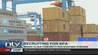 CS Ukur Yatani directs fresh recruitment of KPA boss