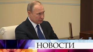 Владимир Путин провел рабочую встречу с губернатором Иркутской области.