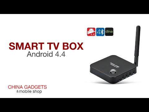 China Gadgets Feature: Android 4 4 Smart TV Box
