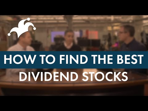 Dividend Investing 101 - How to Find the Best Dividend Stocks