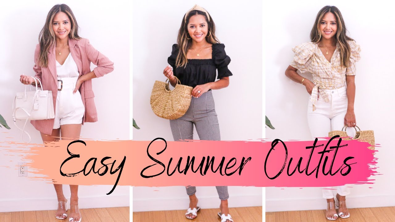 3 Easy Summer Outfits & Scents 2