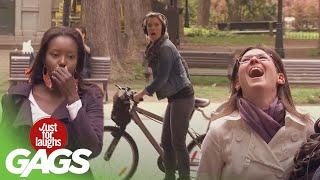 Best of Bike Pranks Vol. 2 | Just For Laughs Compilation