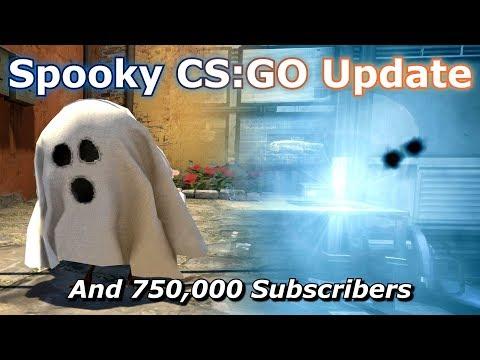 CS GO's Halloween Update and 750,000 Subscriber Special