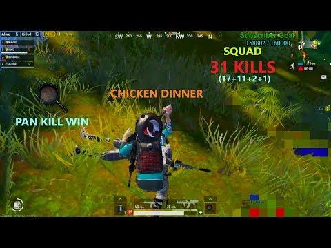 [Hindi] PUBG Mobile   17 Kills With 'Pan Kill' Chicken Dinner In Sanhok